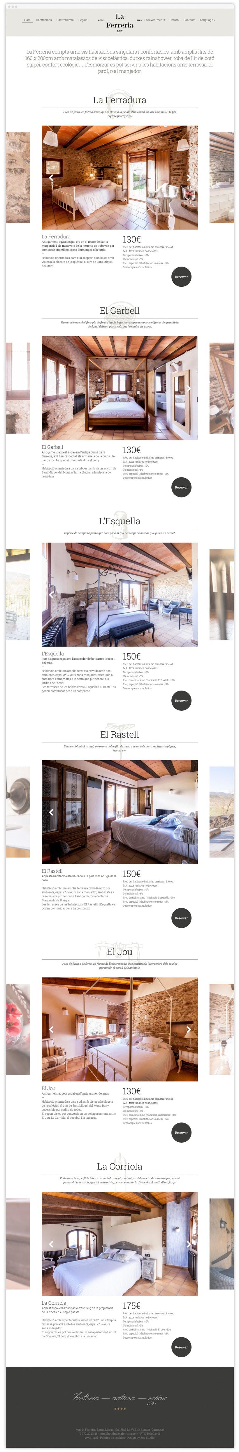 Hotel Mas la Ferreria Web 4