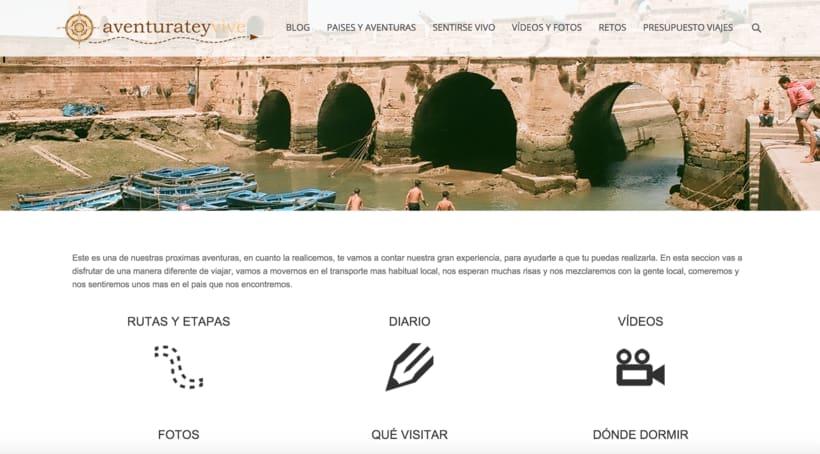 Web - BLOG - Wordpress - aventurateyvive.com 3