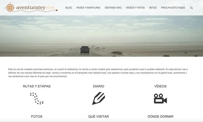 Web - BLOG - Wordpress - aventurateyvive.com 4