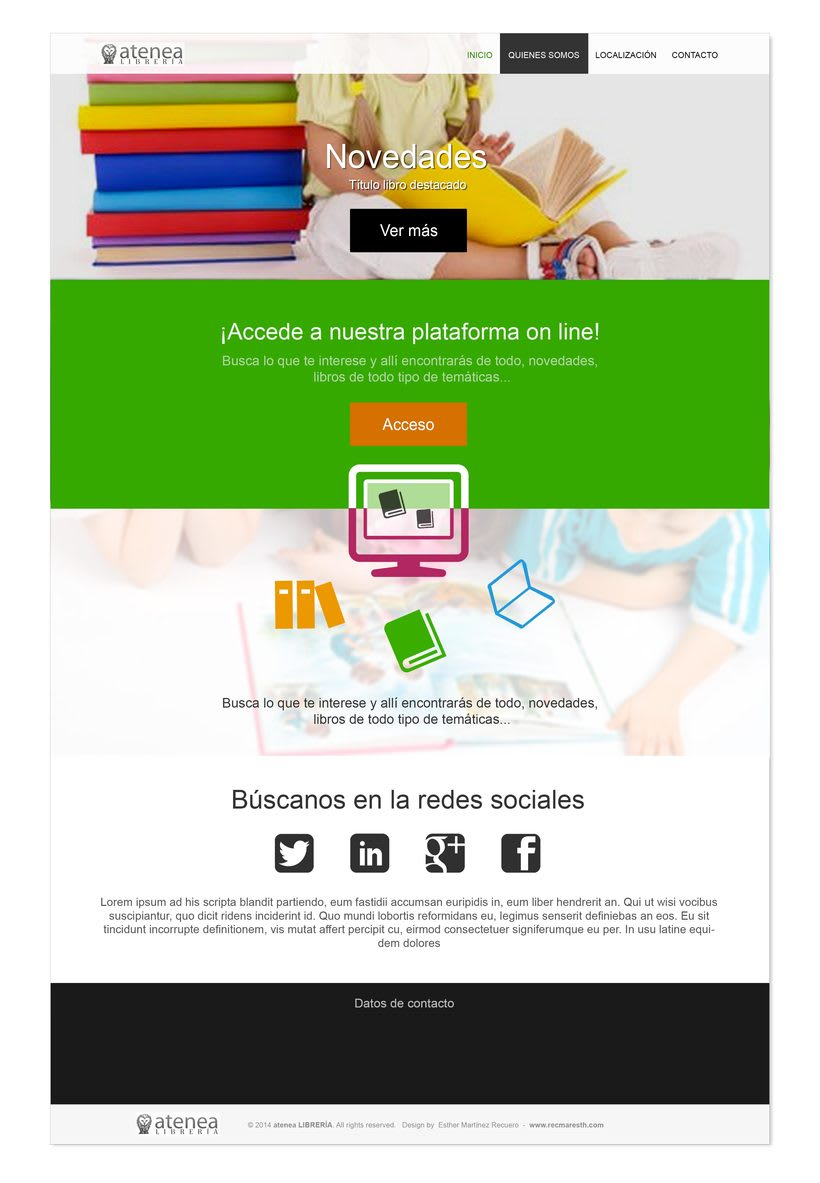 Design proposals for online libraryNuevo proyecto 0