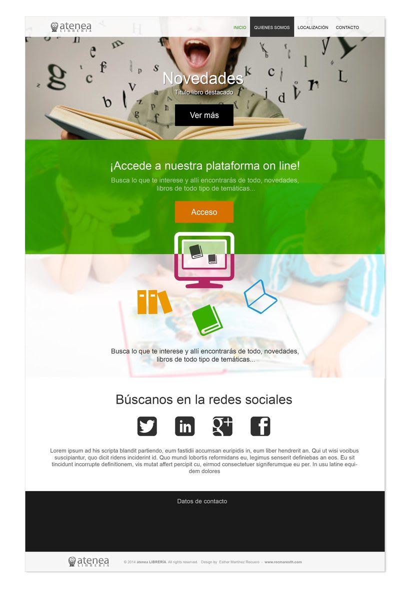 Design proposals for online libraryNuevo proyecto 1