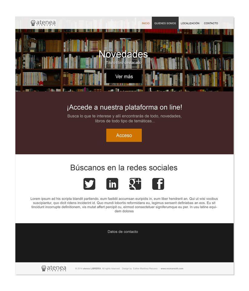 Design proposals for online libraryNuevo proyecto 2
