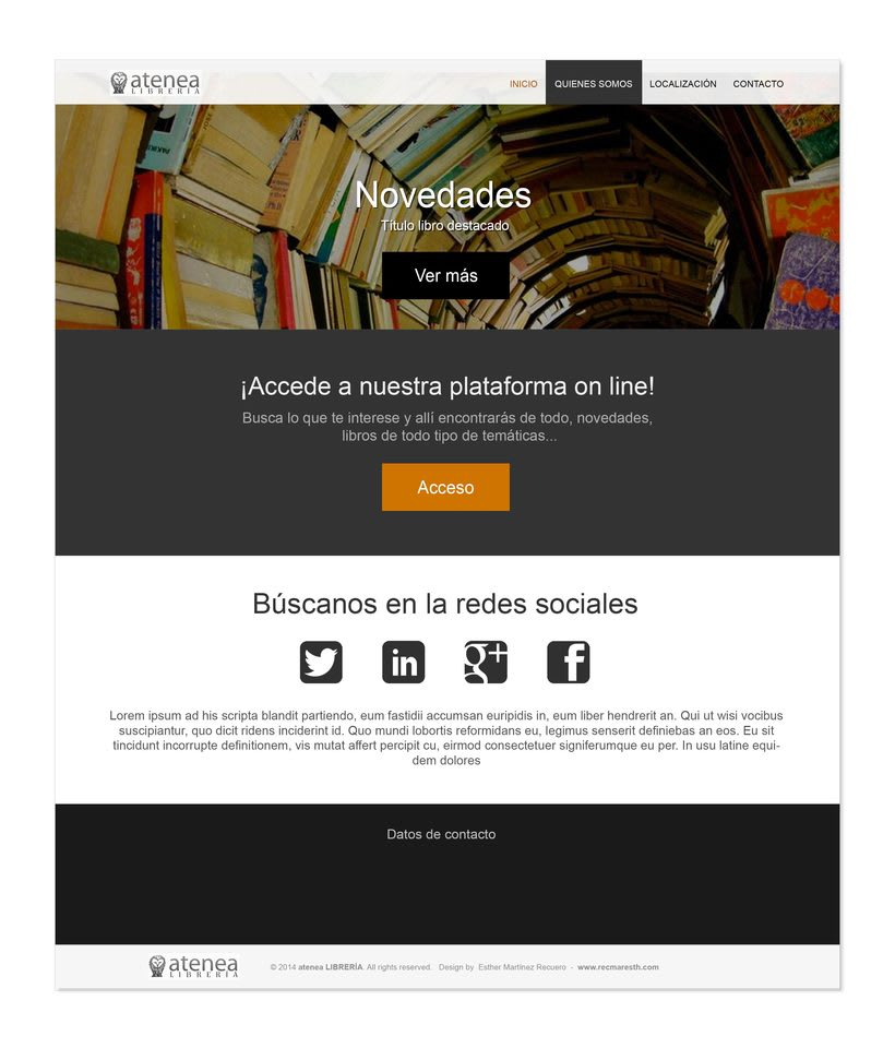 Design proposals for online libraryNuevo proyecto 3