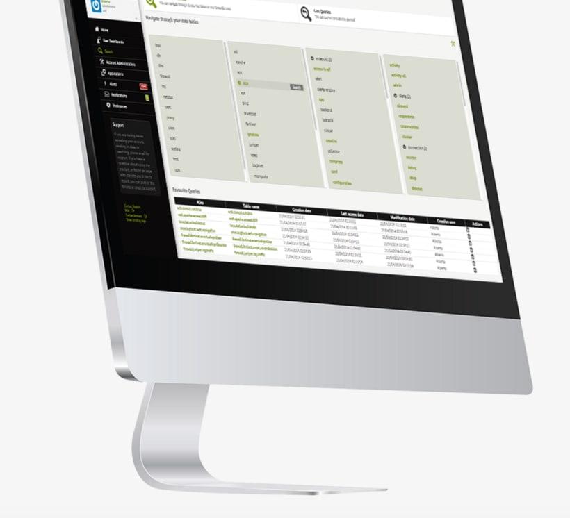 Design back end for Web App - logtrust 4