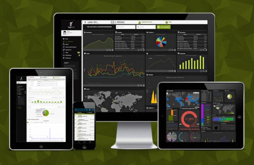 Design back end for Web App - logtrust 1