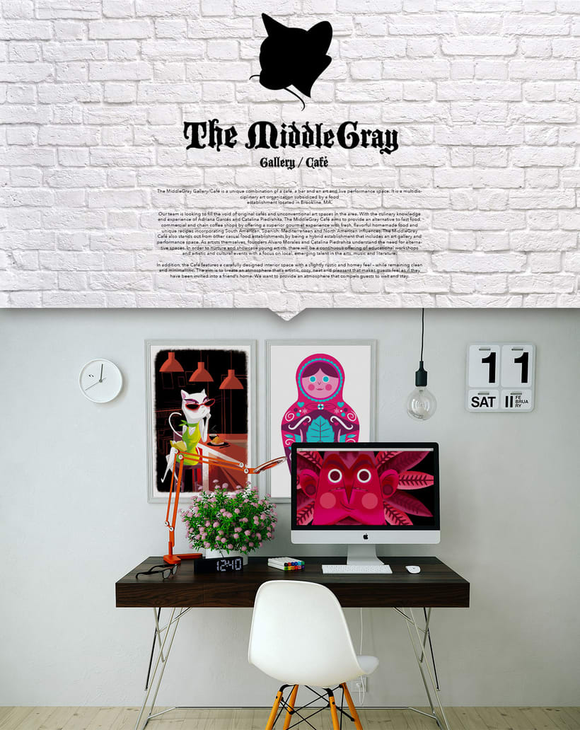 THE MIDDLE GRAY / GALLERY - CAFÉ 0