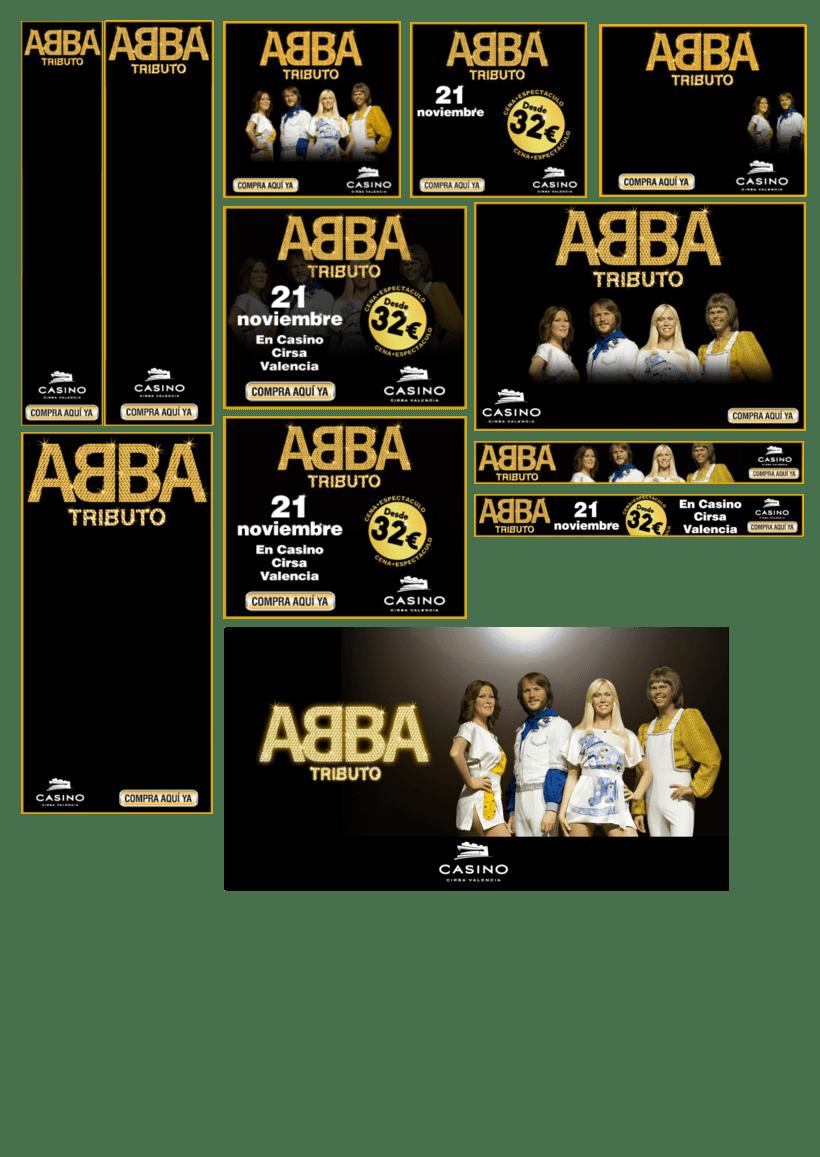Tributo Abba - Casino Cirsa 0