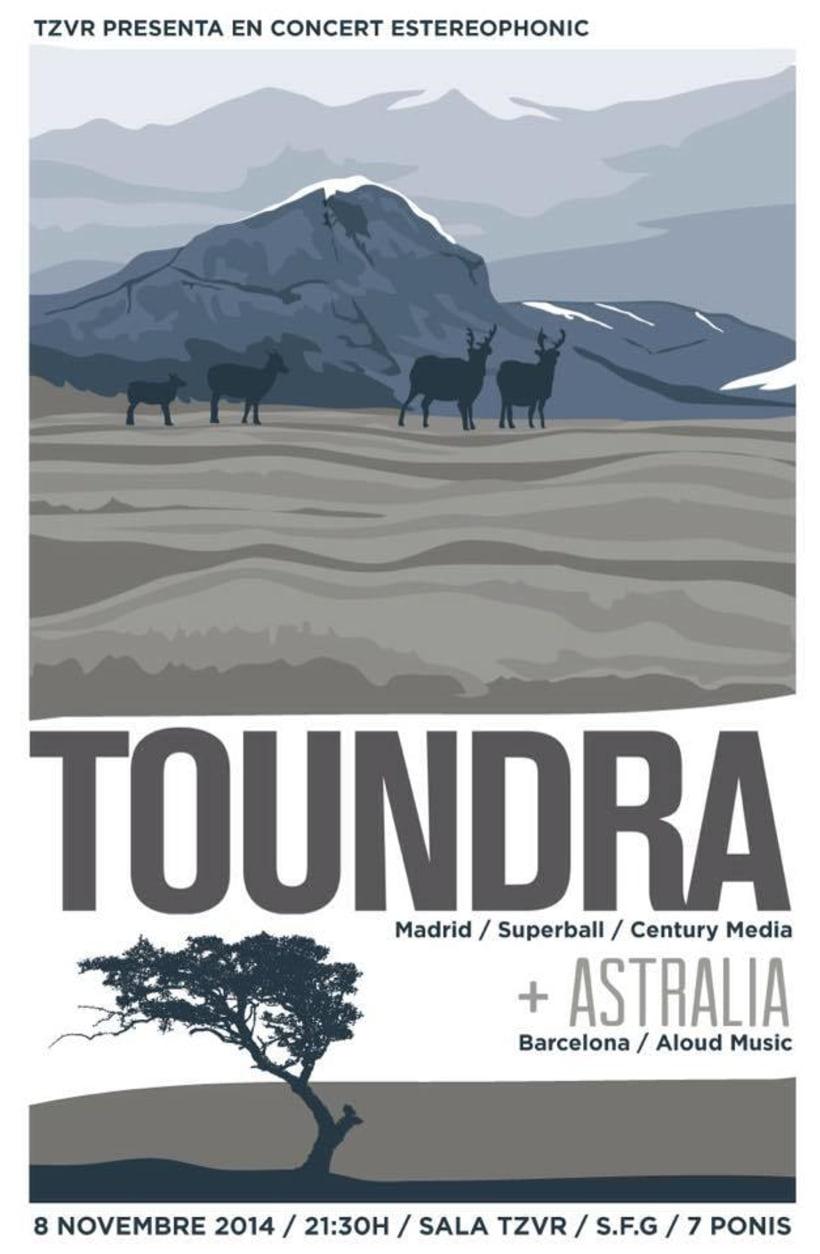 Cartel TOUNDRA + ASTRALIA -1