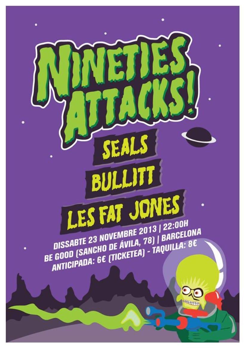 Cartel NINETIES ATTACKS -1
