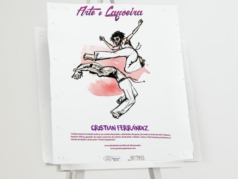 """Evento artístico-cultural """"Arte e Capoeira"""". 7"""