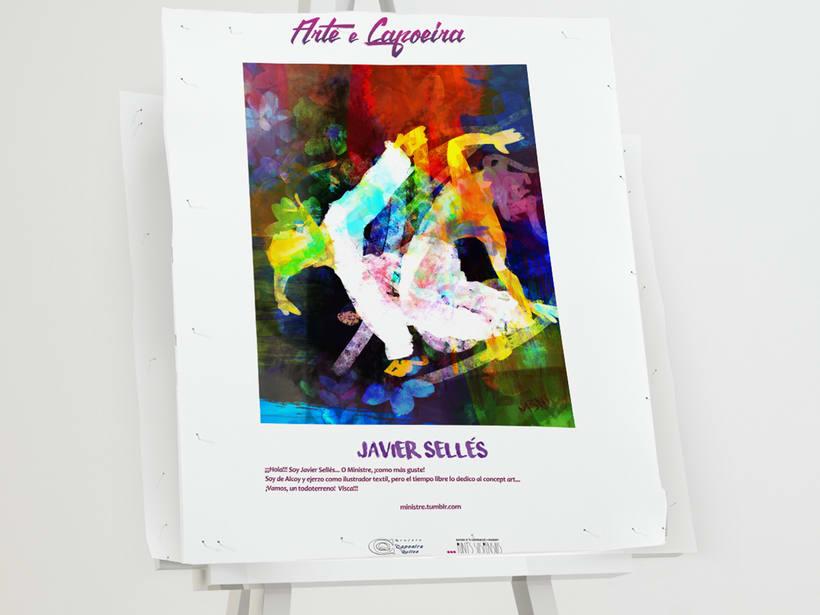 """Evento artístico-cultural """"Arte e Capoeira"""". 10"""