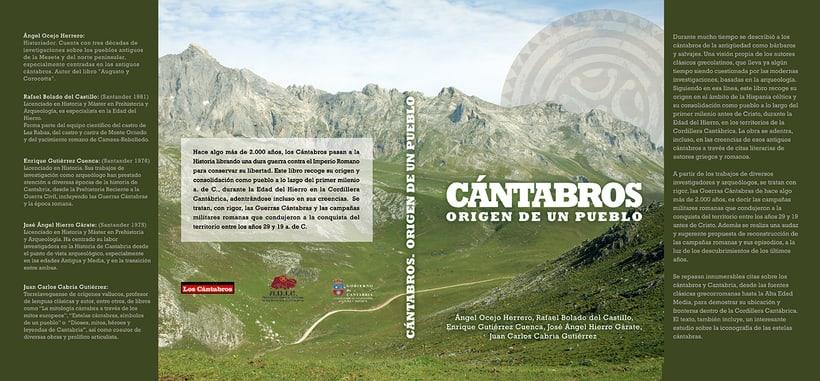 """Artes del libro """"CÁNTABROS - ORIGEN DE UN PUEBLO"""" -1"""