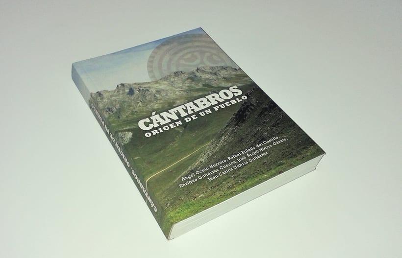 """Artes del libro """"CÁNTABROS - ORIGEN DE UN PUEBLO"""" 0"""