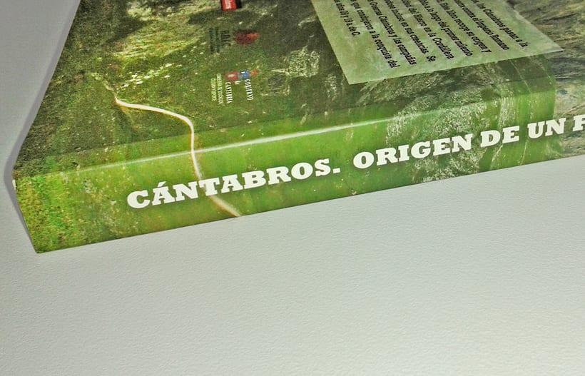 """Artes del libro """"CÁNTABROS - ORIGEN DE UN PUEBLO"""" 5"""