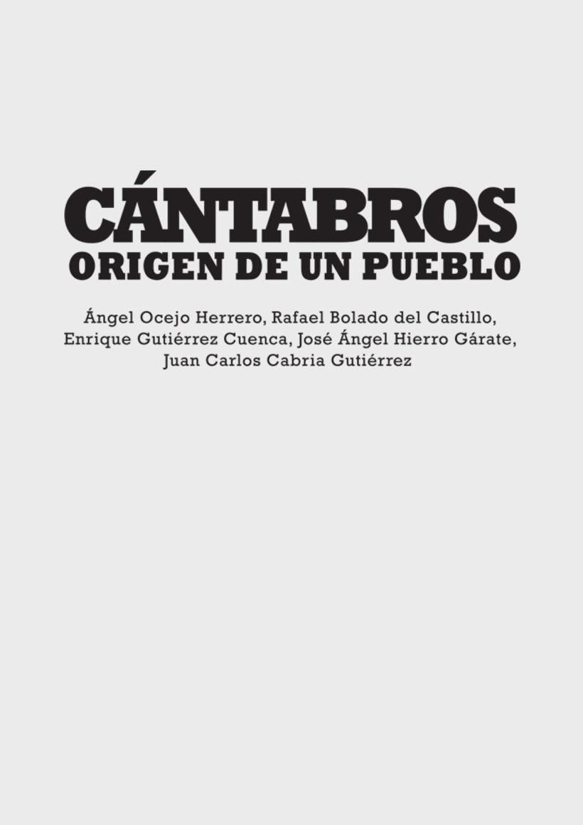 """Artes del libro """"CÁNTABROS - ORIGEN DE UN PUEBLO"""" 6"""