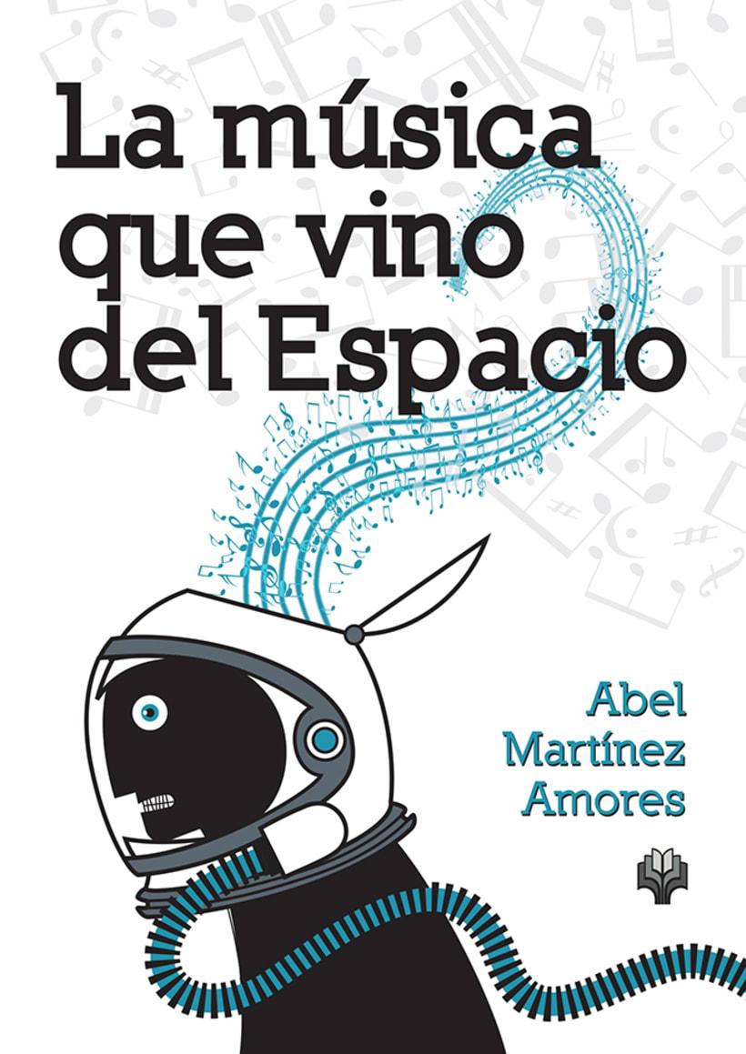 """Artes del libro """"LA MÚSICA QUE VINO DEL ESPACIO"""" -1"""