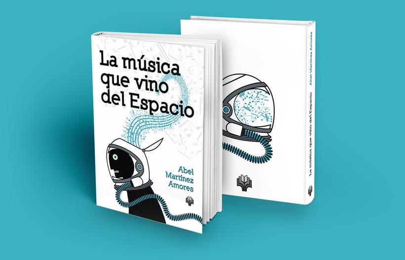 """Artes del libro """"LA MÚSICA QUE VINO DEL ESPACIO"""" 0"""