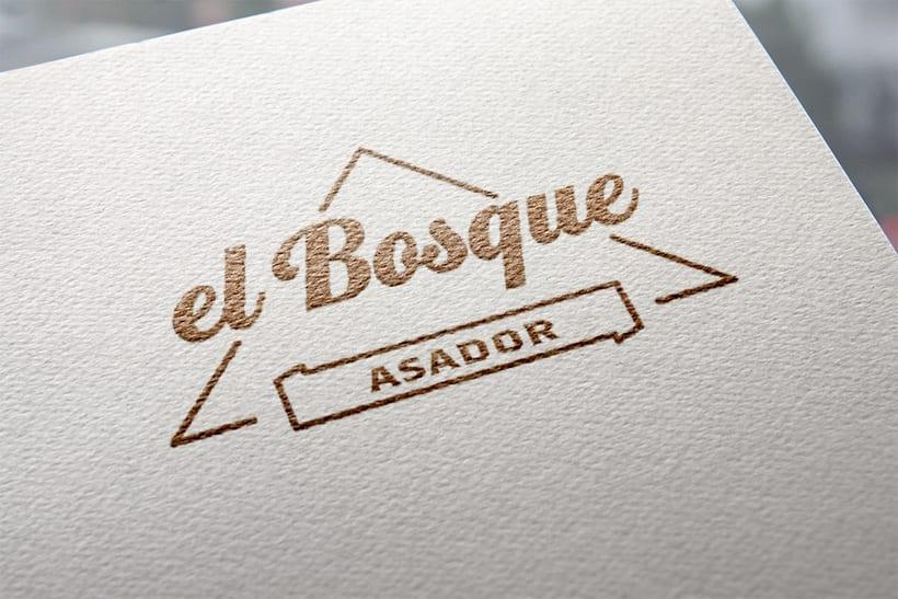 Asador El Bosque - Branding / Diseño de producto 0