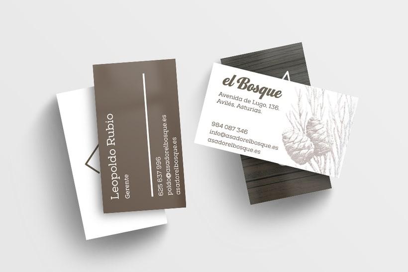 Asador El Bosque - Branding / Diseño de producto 3