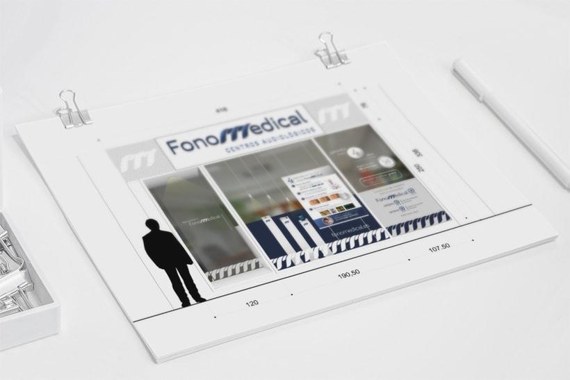 Fonomedical - Branding / Diseño de interior 8