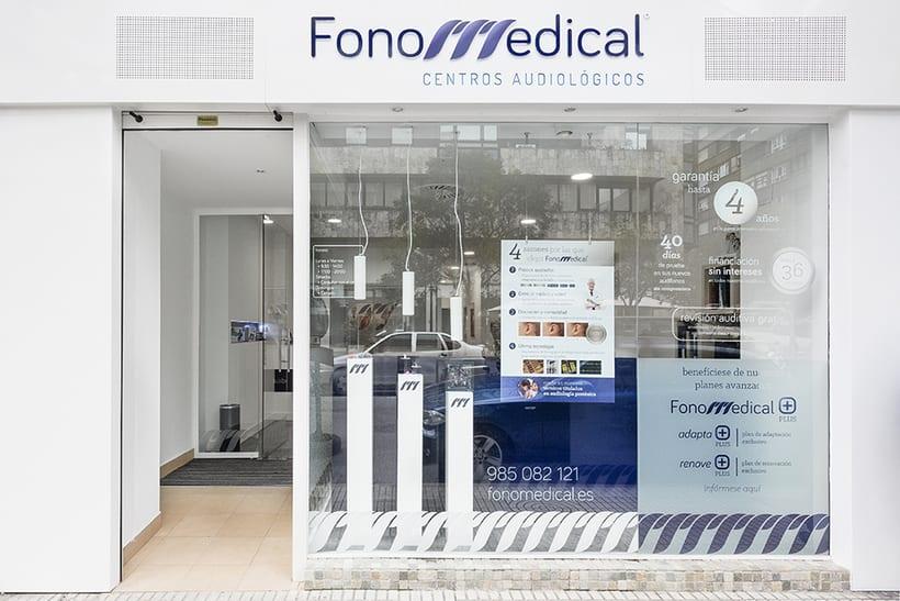Fonomedical - Branding / Diseño de interior 5