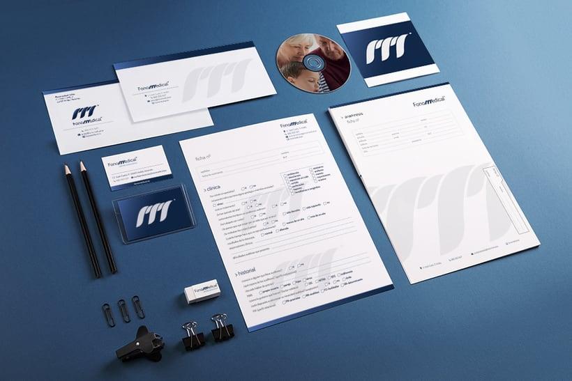 Fonomedical - Branding / Diseño de interior 7