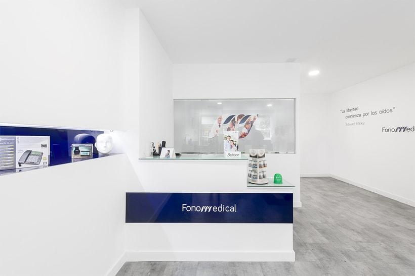 Fonomedical - Branding / Diseño de interior 2