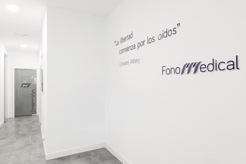 Fonomedical - Branding / Diseño de interior 3