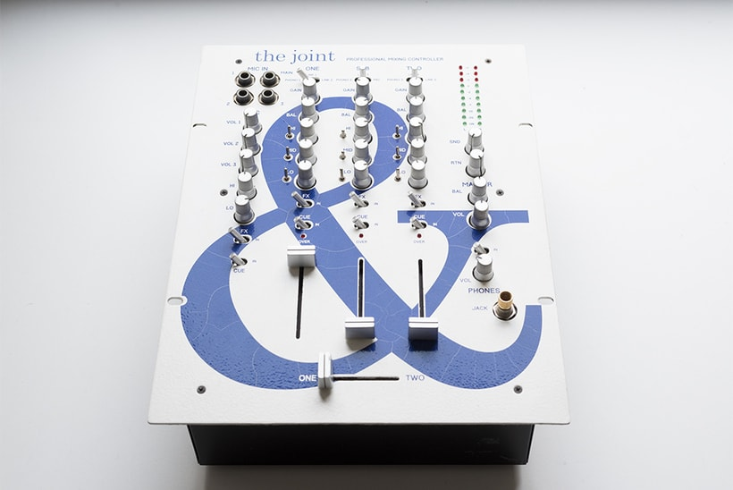 The Joint - Rediseño interfaz mesa de mezclas 3