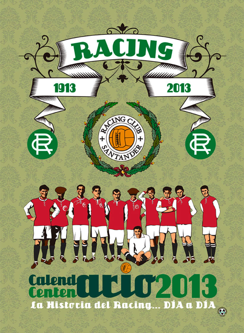 Calendario CENTENARIO REAL RACING CLUB / 1913-2013 -1
