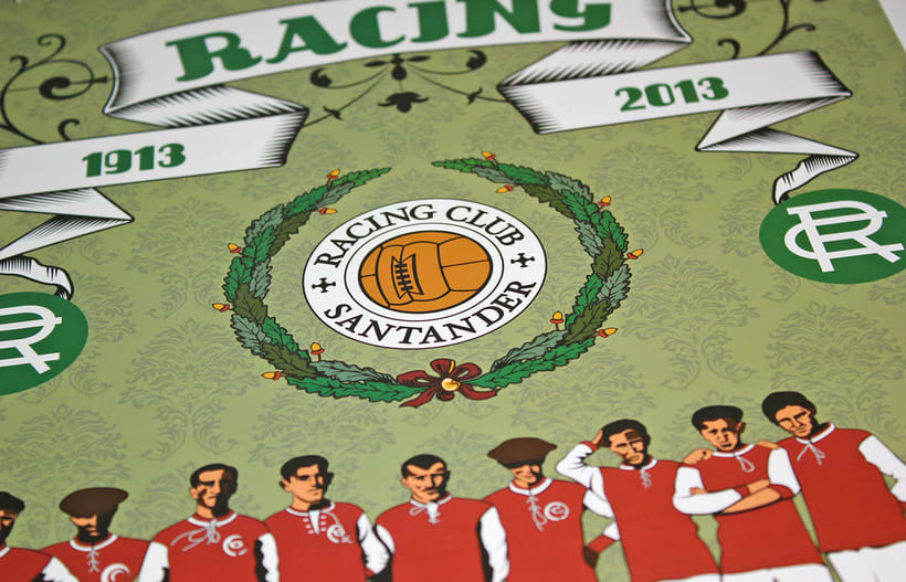 Calendario CENTENARIO REAL RACING CLUB / 1913-2013 2