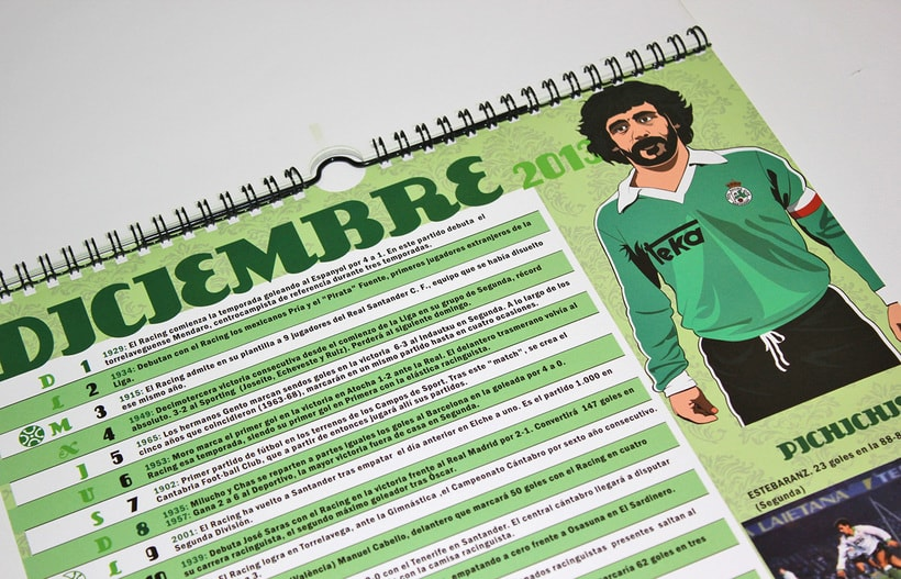 Calendario CENTENARIO REAL RACING CLUB / 1913-2013 9