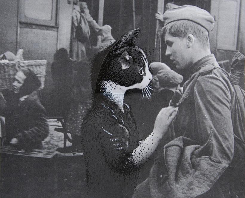 bloc de dibujo //  Gatos 9