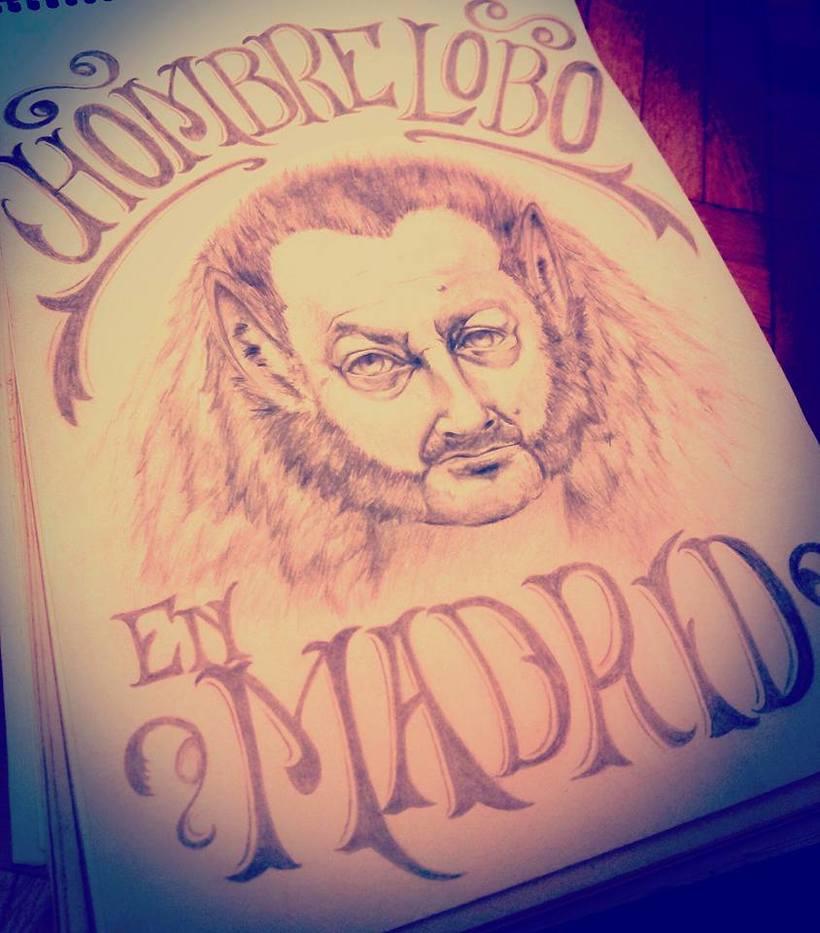 Hombrelobo en Madrid 1