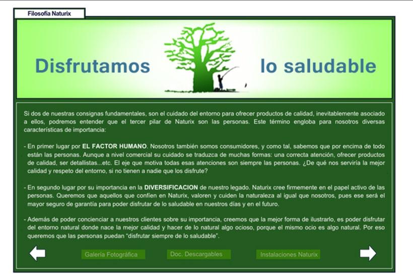 WEB DESIGN: Naturix Aquiculture 7