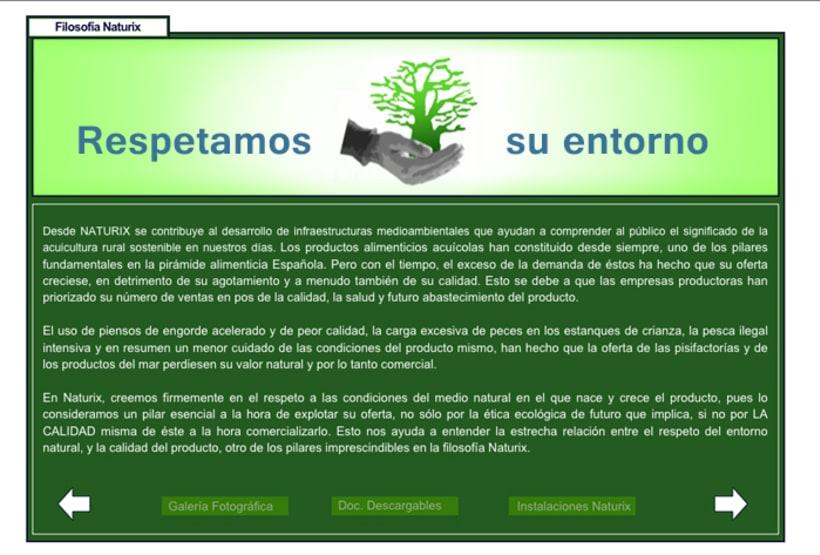 WEB DESIGN: Naturix Aquiculture 5