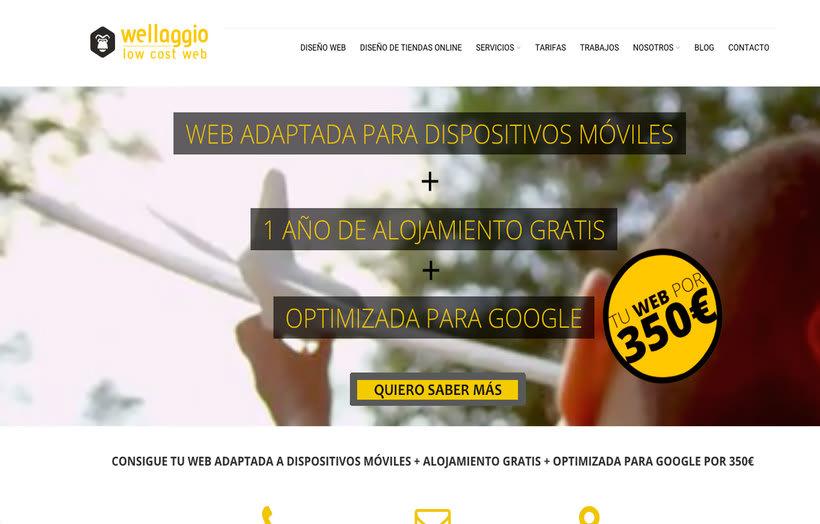 Wellaggio. Diseño Web Valencia. 2
