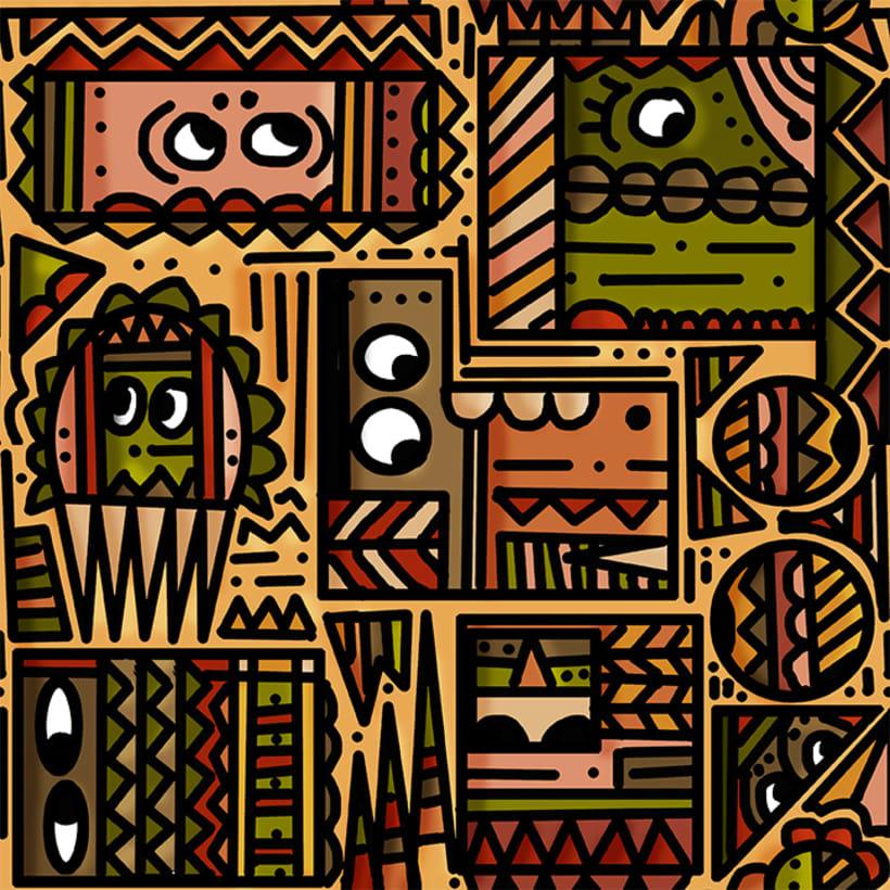 Mi Proyecto del curso: Pattern Design analógico y digital 1