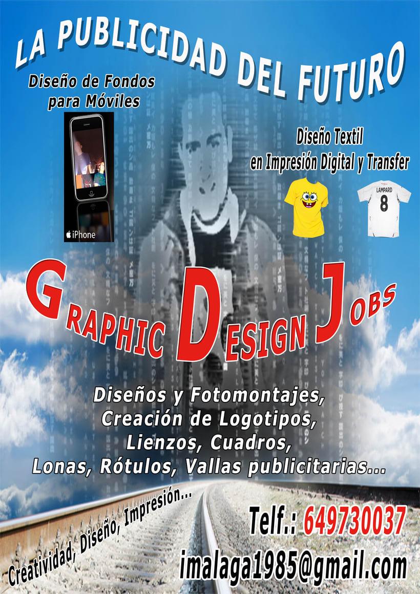 Diseños logos, carteles, tarjetas, vinilos, lonas, rotulación, etc... -1