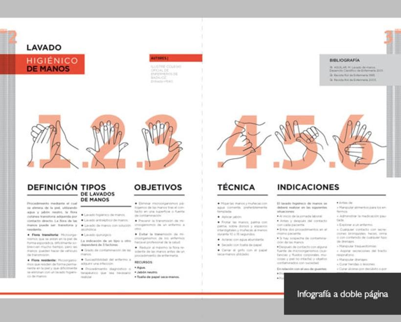 Maquetación con ilustración vectorial 0