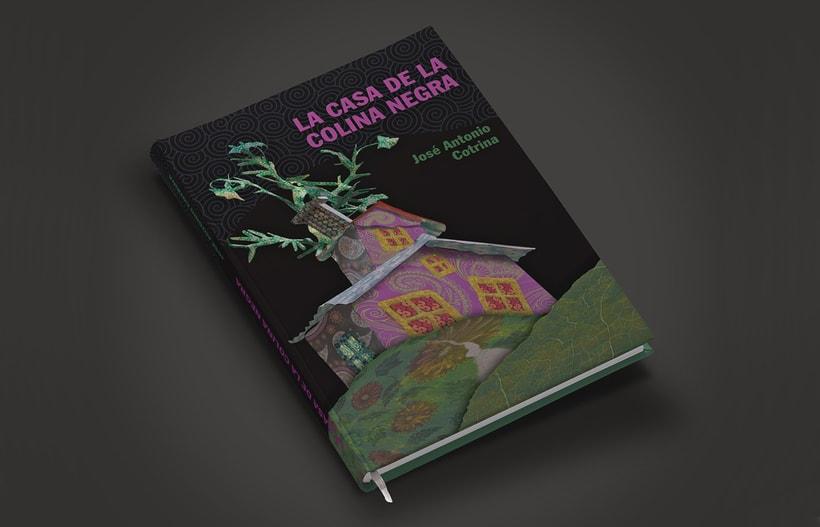 """Portada del libro """"LA CASA DE LA COLINA NEGRA"""" 0"""