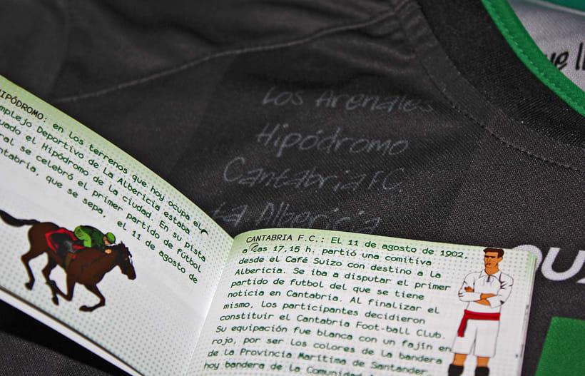 Librillo-Etiqueta para la camiseta del Centenario de Real Racing Club 5