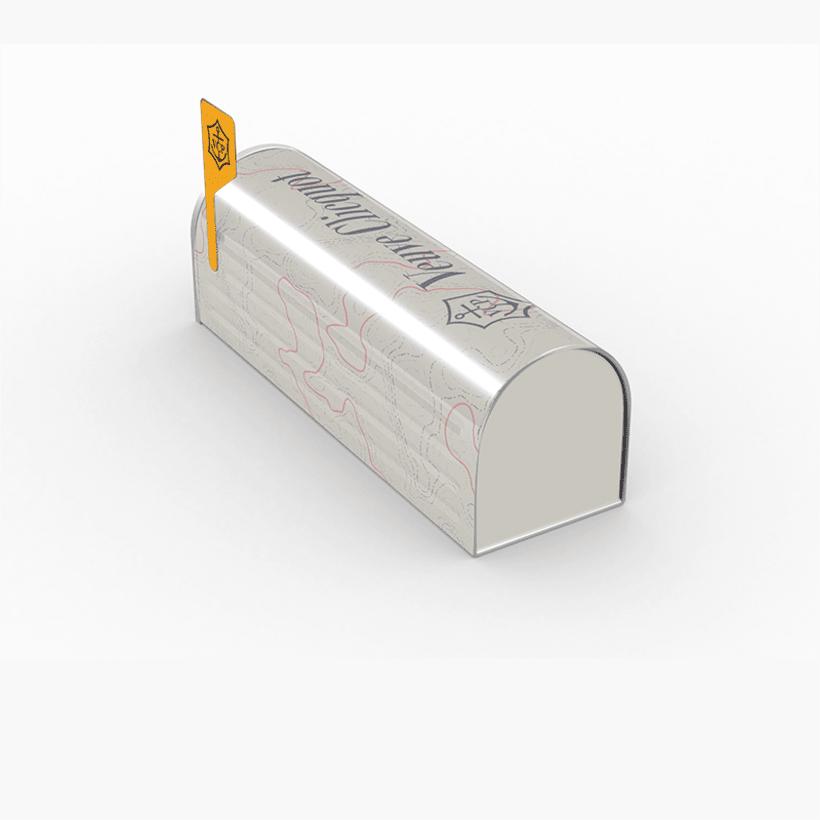 Rediseño edición especial Clicquot mailbox 1
