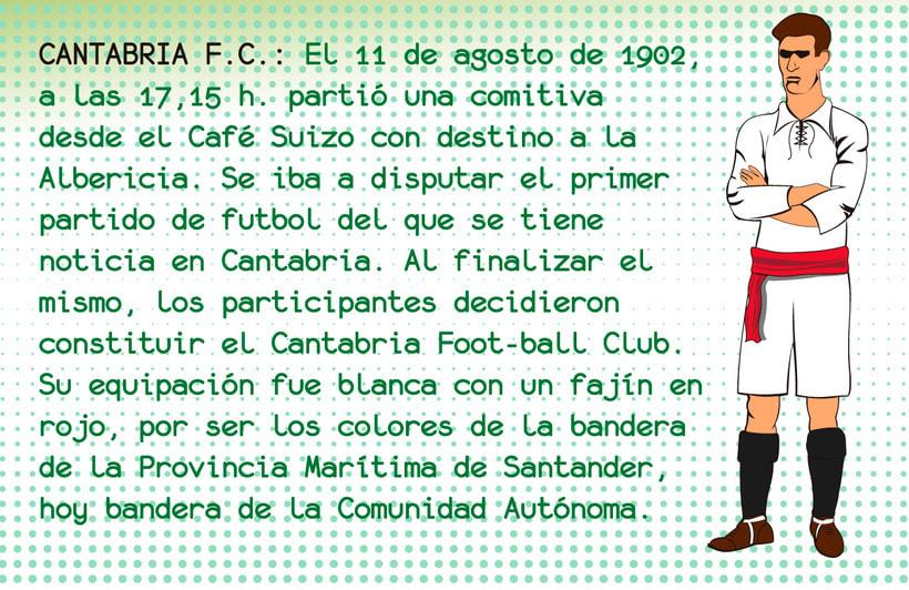 Librillo-Etiqueta para la camiseta del Centenario de Real Racing Club 7