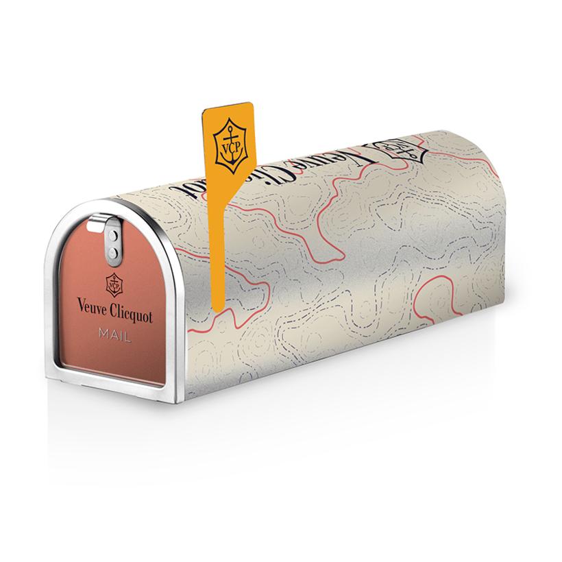 Rediseño edición especial Clicquot mailbox 0