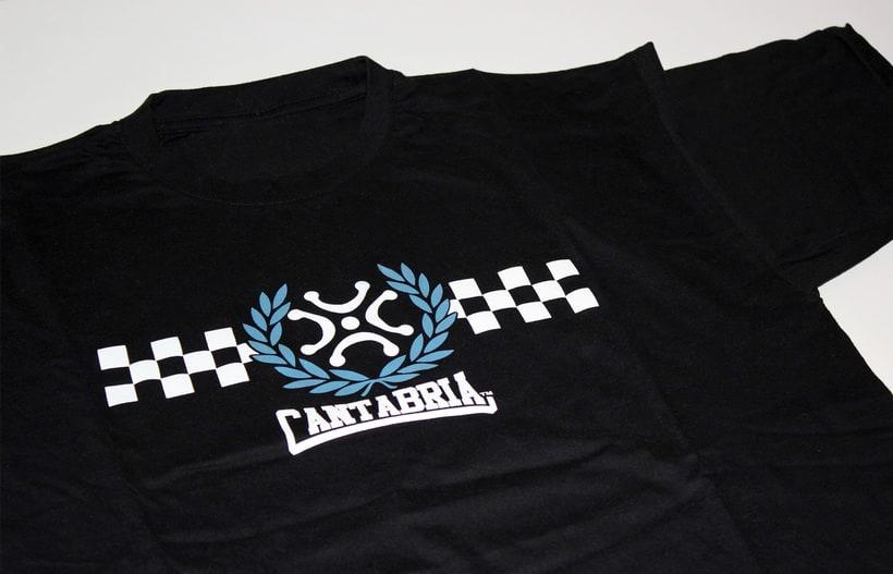 Camiseta Cantabria 3
