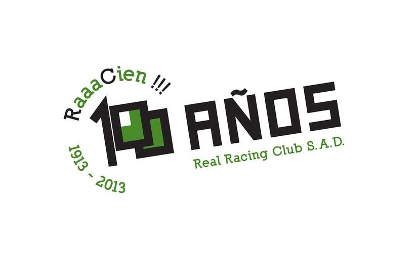 Propuesta de logotipo. Centenario Real Racing Club 1913-2013 -1