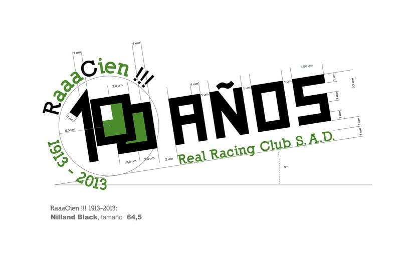 Propuesta de logotipo. Centenario Real Racing Club 1913-2013 1