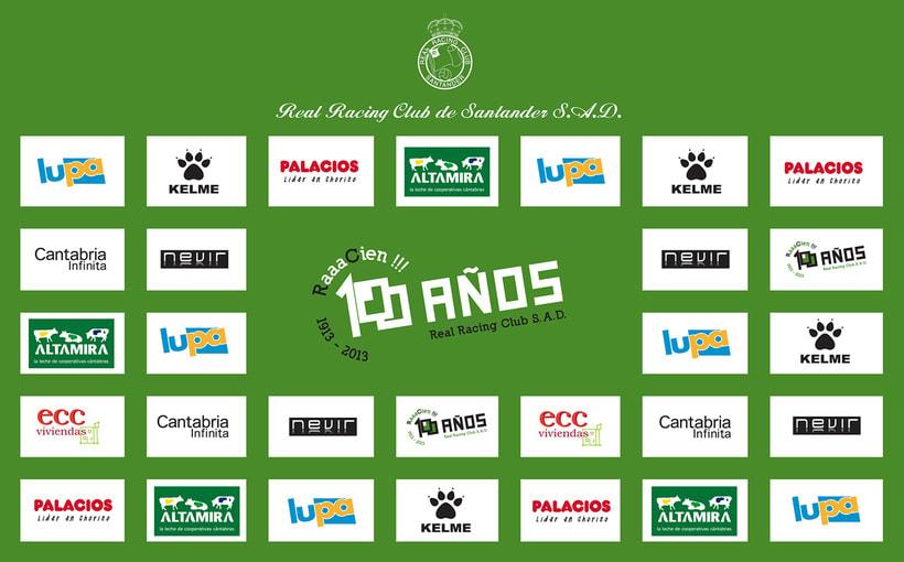 Propuesta de logotipo. Centenario Real Racing Club 1913-2013 5