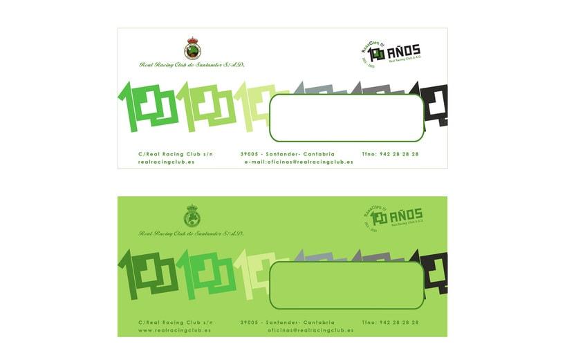 Propuesta de logotipo. Centenario Real Racing Club 1913-2013 6